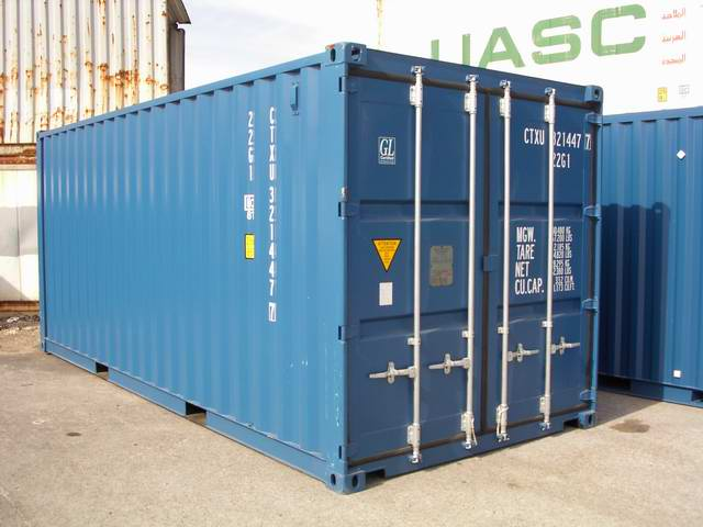 Equipement de chantier vente de container maritime for Prix container occasion